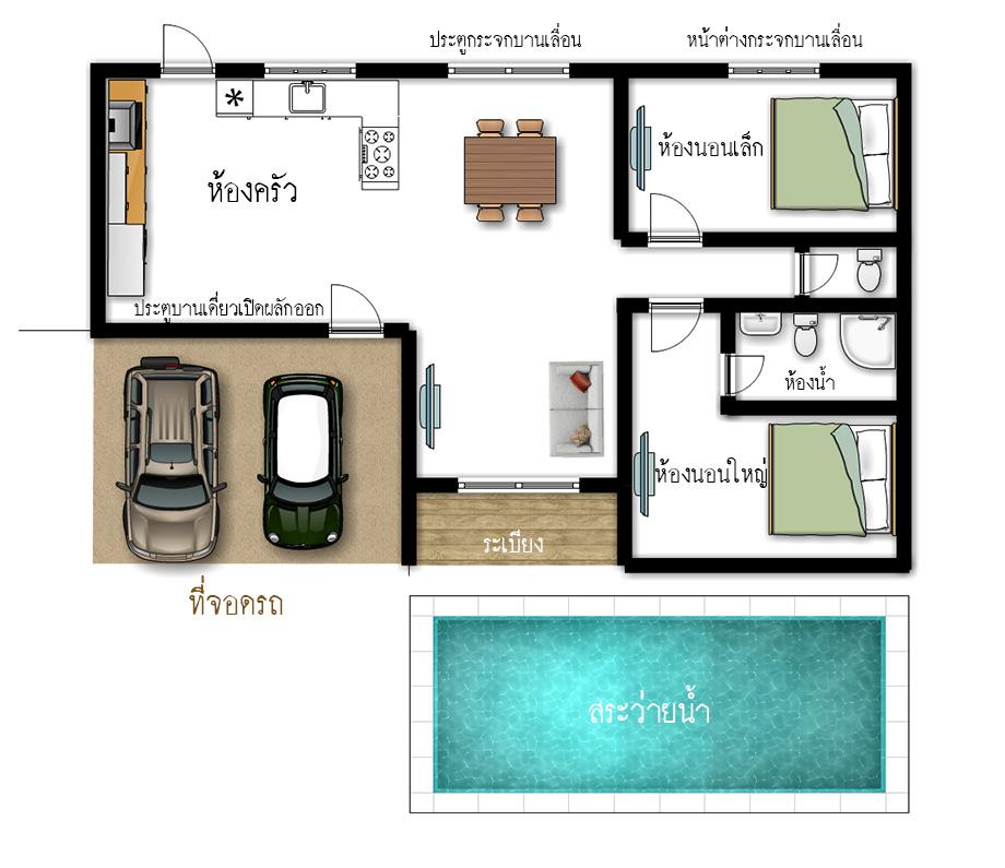 6 เทคนิค การออกแบบ้านด้วยตนเอง