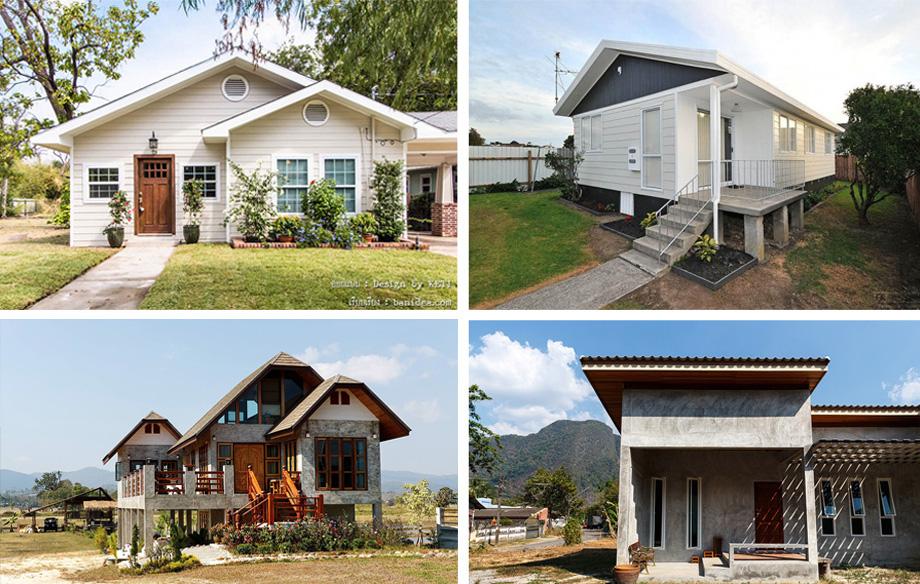 ออกแบบบ้านเอง