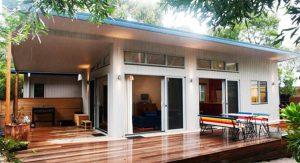 สร้างบ้านชั้นเดียวแบบเรียบง่าย