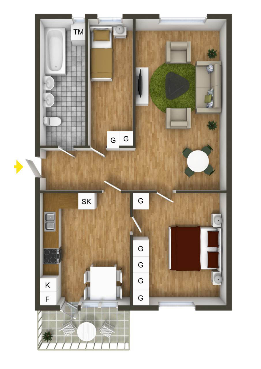 Image Result For Small Bedroom Ensuite Layout