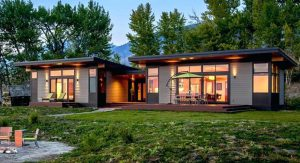 บ้านสำเร็จรูปสไตล์โมเดิร์น