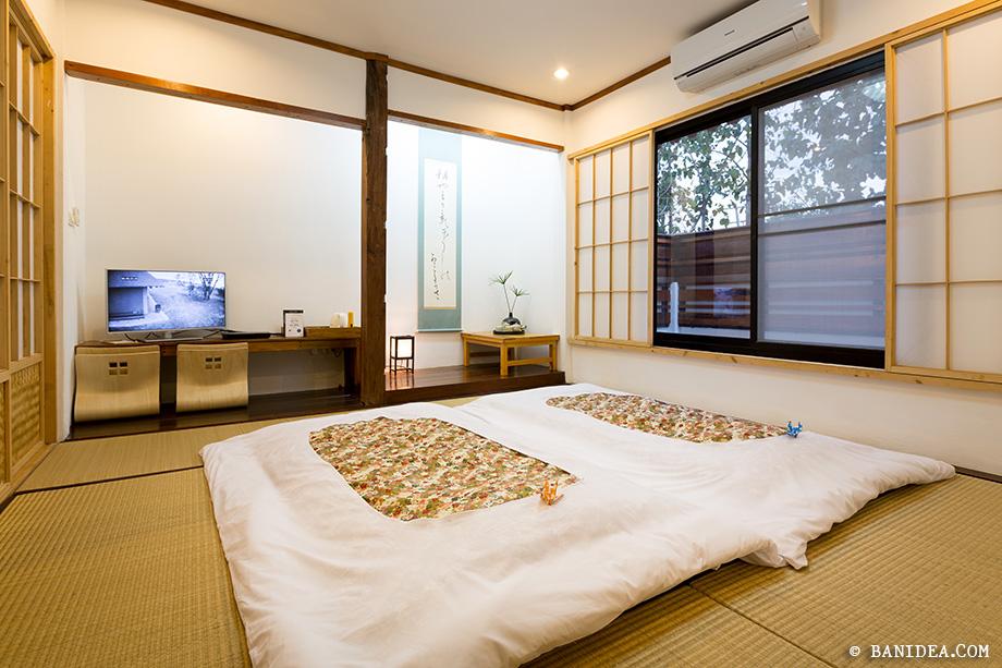 ห้องนอนแบบเรียวกัง ญี่ปุ่น