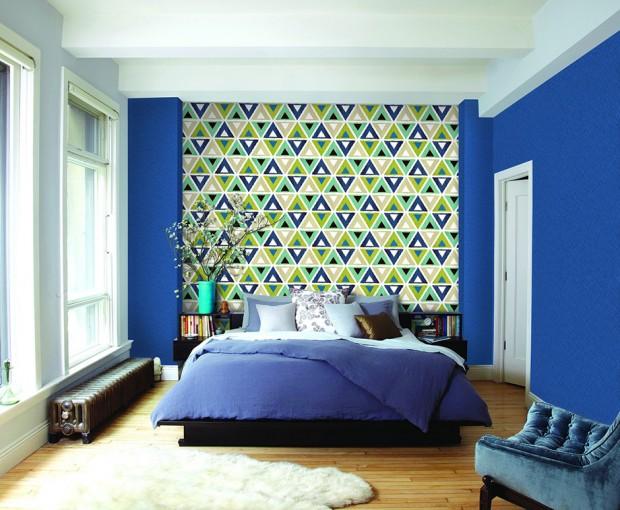 แต่งห้องนอนสีน้ำเงิน