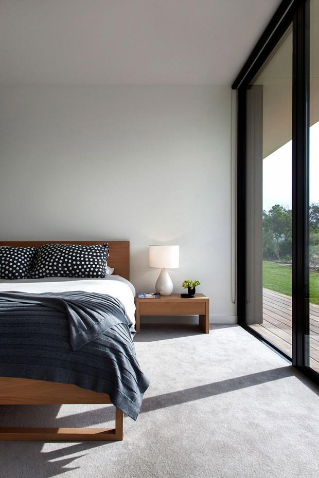 ห้องนอนรับแสง