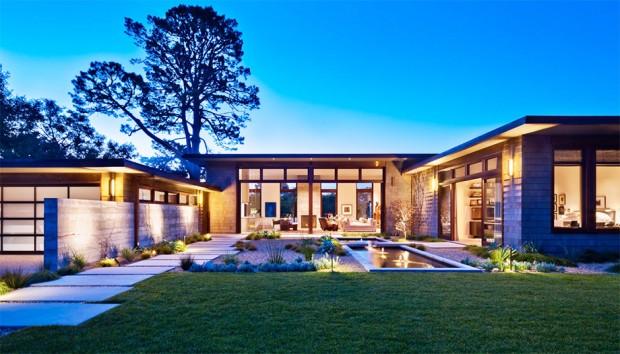 บ้านสวยรูปตัว U