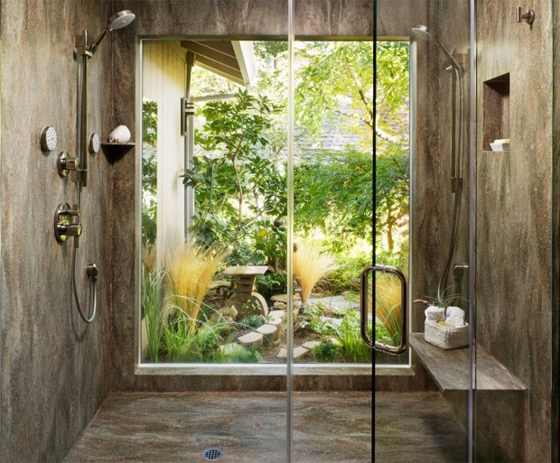 ห้องน้ำชมสวน