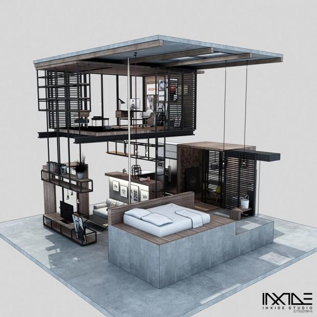 Modern-concrete-home