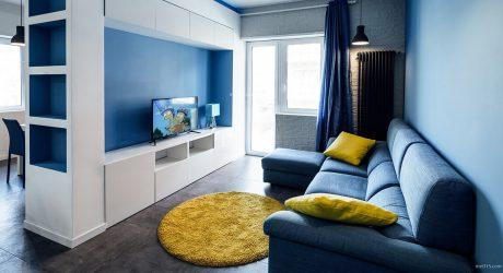 แต่งห้องสีน้ำเงิน