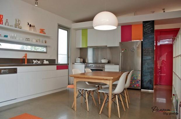 ห้องครัวสีชมพู
