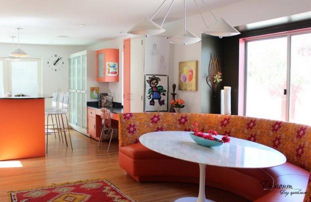 ห้องครัวสีส้ม