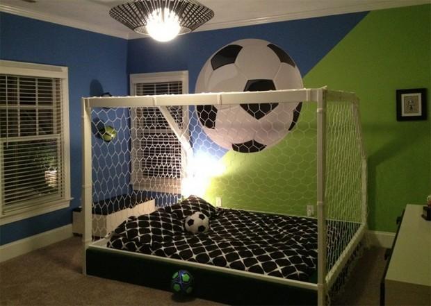 เตียงนอนตาข่ายฟุตบอล