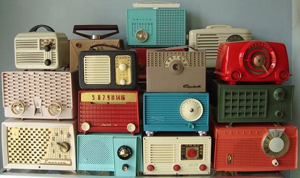 วิทยุสไตล์ vintage