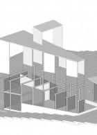ภาพแยกส่วนบ้าน 4 module 01