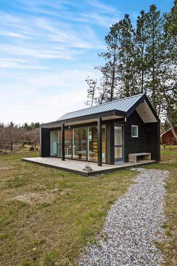 แบบบ้านชั้นเดียวสไตล์ Scandinavian