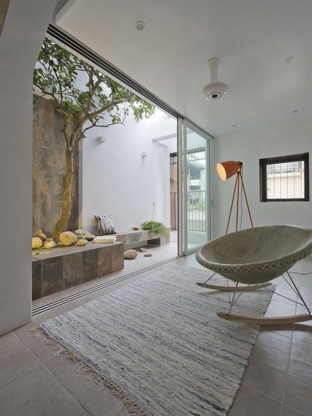 พื้นที่นั่งเล่นเชื่อมต่อในบ้าน-นอกบ้าน