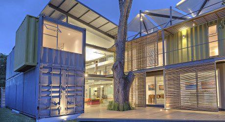 บ้านตู้ container 2 ชั้น