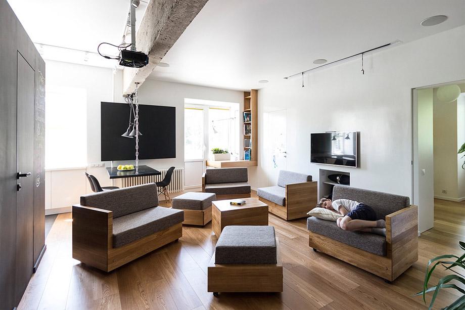 อพาร์ทเม้นท์เล็ก ๆ กับฟังก์ชั่นสนุก