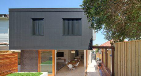 ตัวบ้าน 2 ชั้นสไตล์ modern contemporar