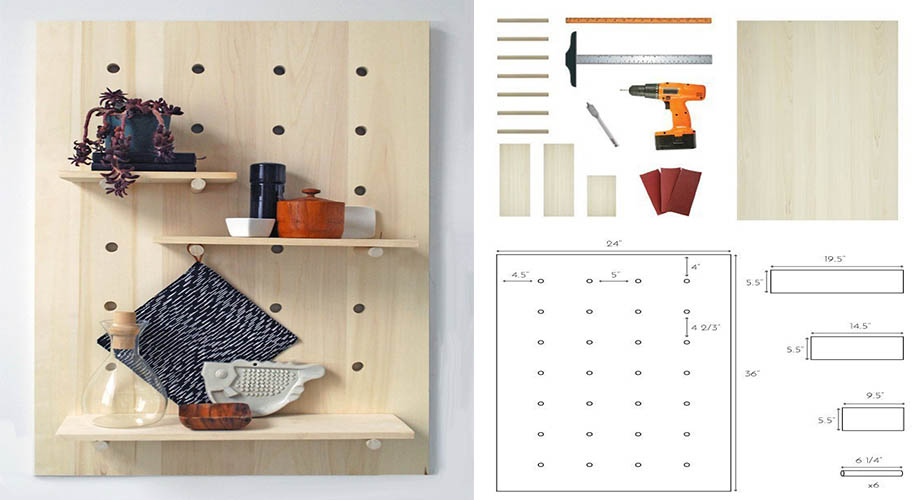 D.I.Y Pegboard