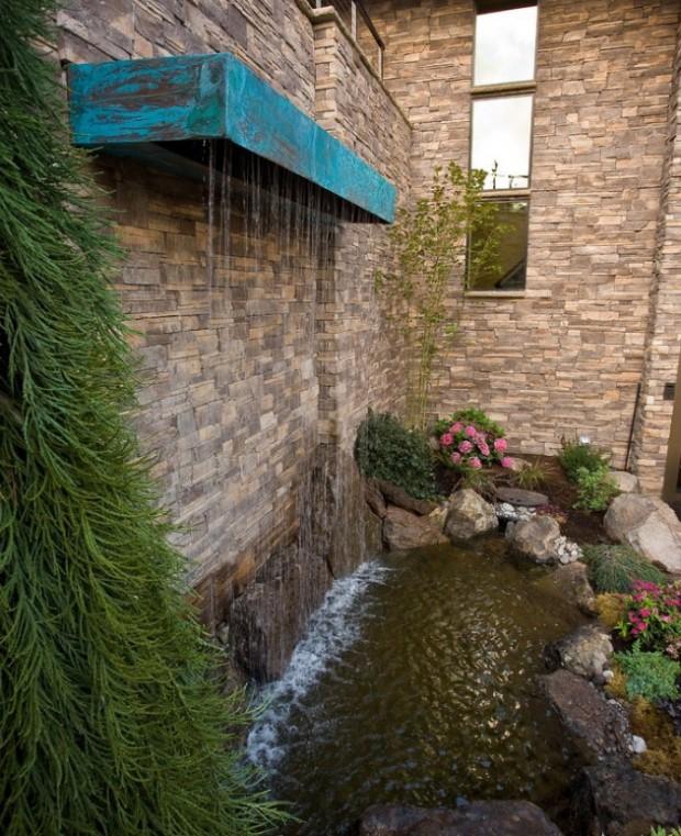 น้ำตก D.I.Y ในสวนหลังบ้าน