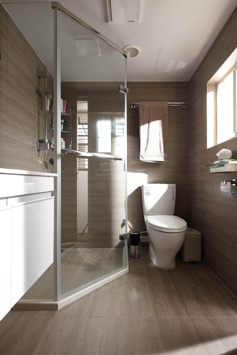 ตกแต่งห้องน้ำแบบ modern