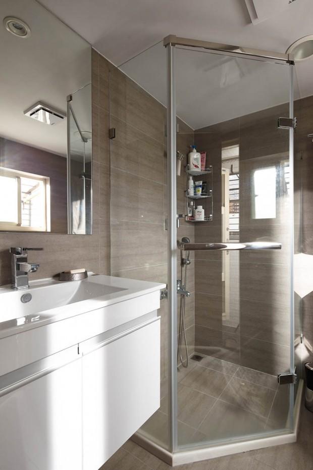 ตกแต่งห้องอาบน้ำแบบ modern