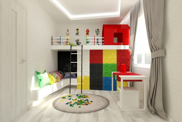 แต่งห้องด้วยแรงบันดาลใจจากเลโก้