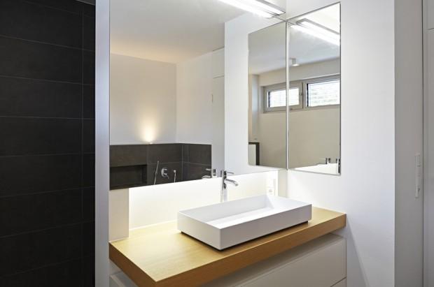 ห้องน้ำตกแต่งเรียบง่ายสไตล์ Modern