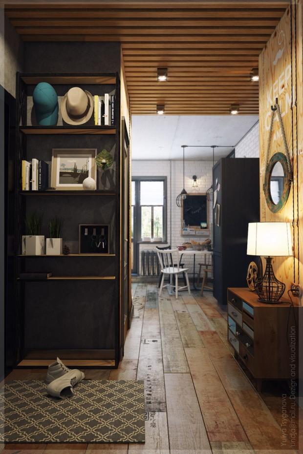 ไอเดียตกแต่งครัว Modern-loft