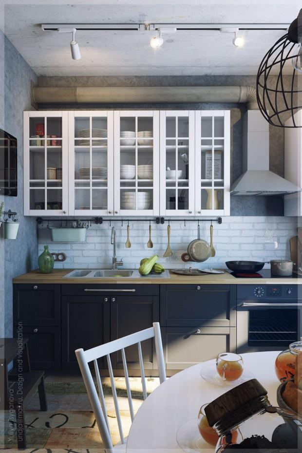 ตู้และชั้นวางของในครัว