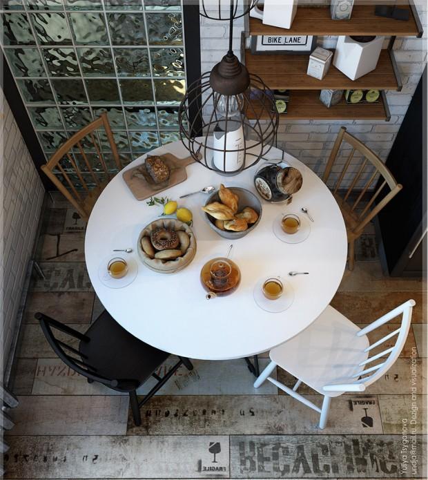 โต๊ะทานอาหารสำหรับ 4 คน
