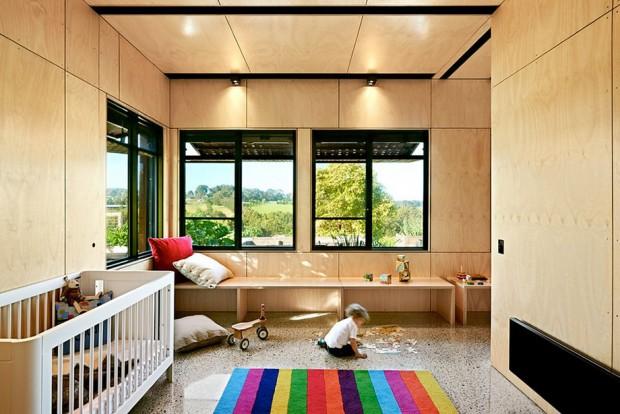 ห้องนอนเด็กสไตล์โมเดิร์น