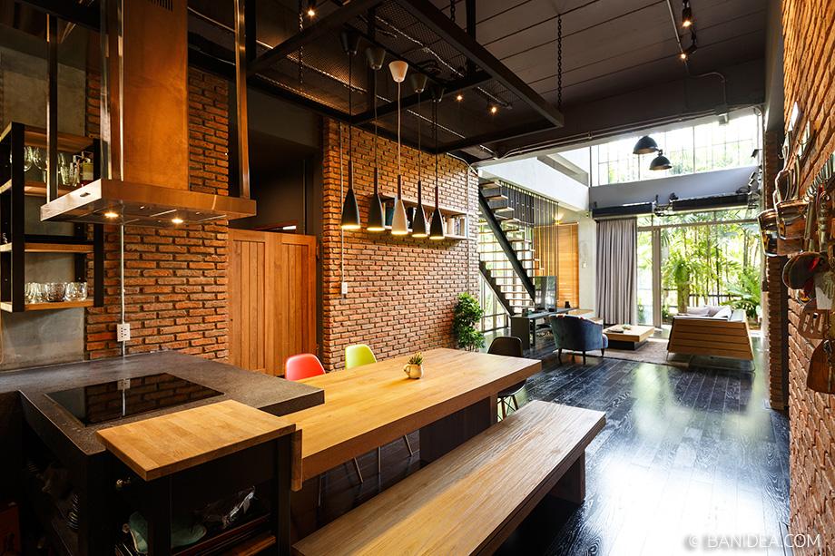 ห้องครัวสไตล์ Loft
