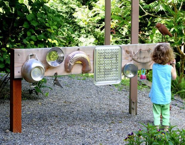 มุมแสดงดนตรีในสวน
