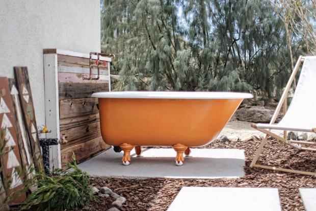 โซนอาบน้ำ Out door