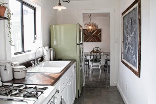 ห้องครัวตกแต่งภาพสไตล์ชนเผ่า