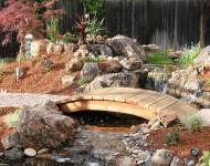 ไอเดียทำสะพานเล็ก ๆ ในสวน
