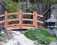 สะพานเล็ก ๆ สไตล์ญี่ปุ่น