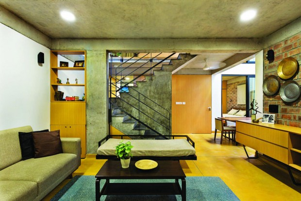 Interior and Architecture Photography by Kunal Bhatia, of Ethirajan House and Between Spaces Office designed by Between Spaces Architects. Only Editorial Usage rights granted to Between Spaces Architects. No rights to any third party. Copyrights belong to photographer.