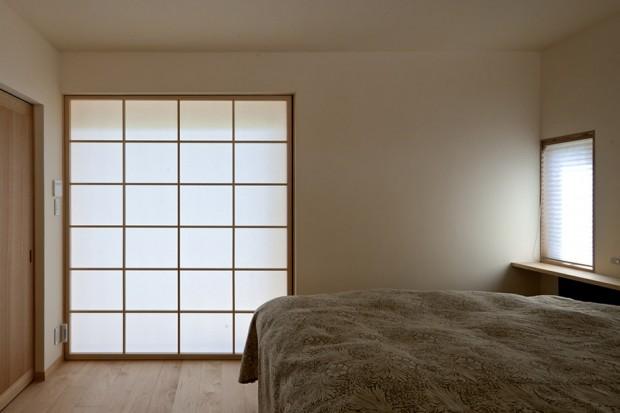 ห้องนอนติดประตูแบบญี่ปุ่น