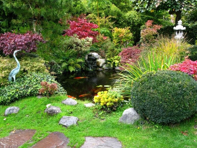 จัดสวนน้ำให้บ้านสดชื่น