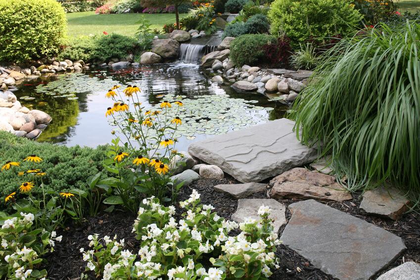 สวนน้ำในบ้าน