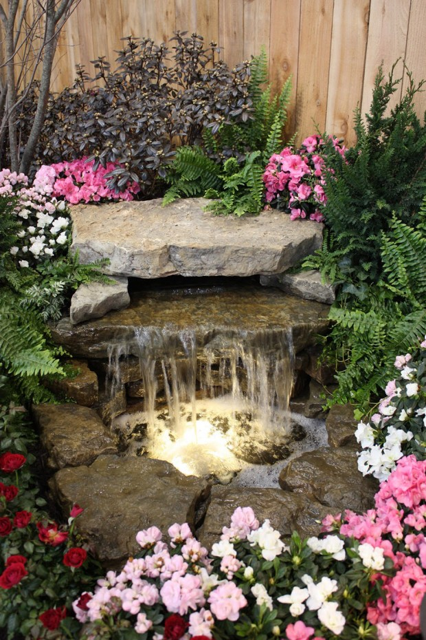 สวนน้ำตกในบ้าน