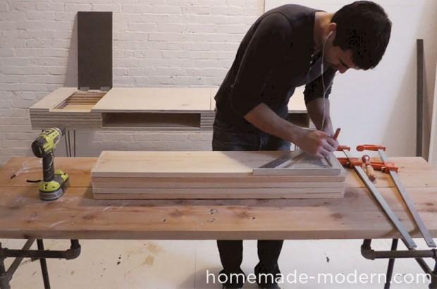ขั้นตอนการวัดไม้