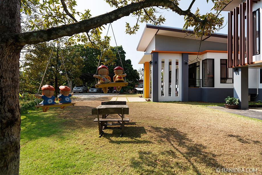 บ้านโมเดิร์น ในสวนทุเรียน