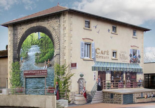 street-art ฟาซาด