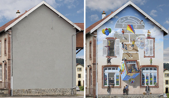 wall art Facade