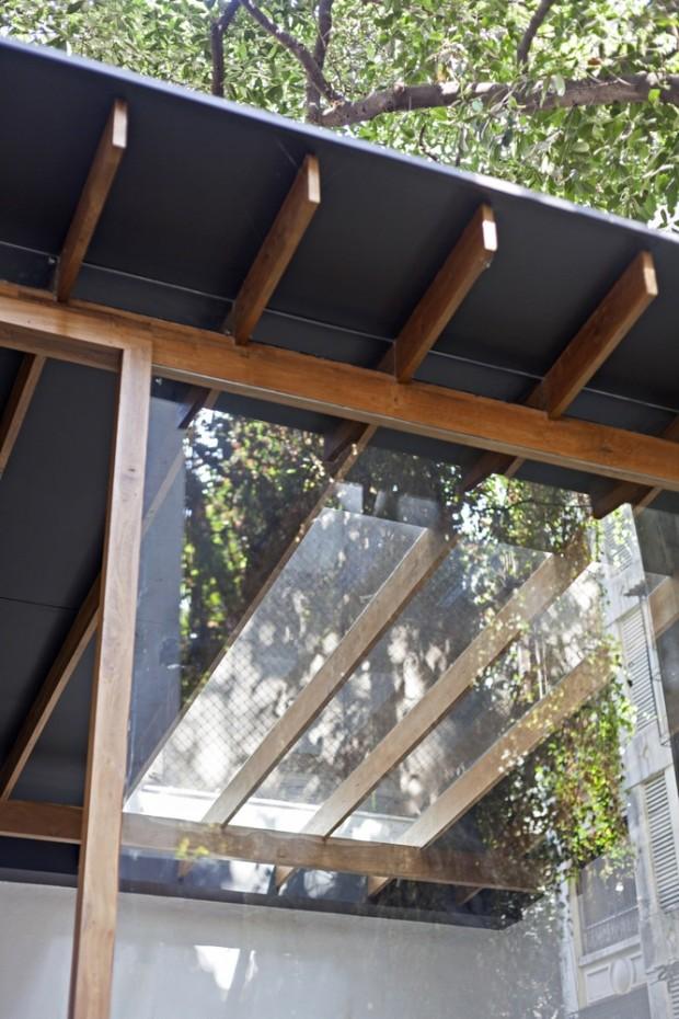 โครงคานทำจากไม้