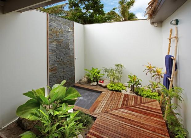 ไอเดียจัดสวนในห้องน้ำกลางแจ้ง