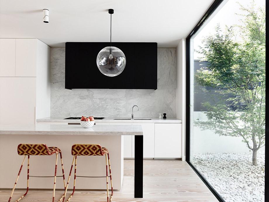 ห้องครัวติดบริเวณ open air